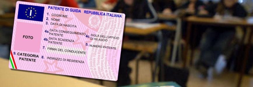le patenti di guida in Italia
